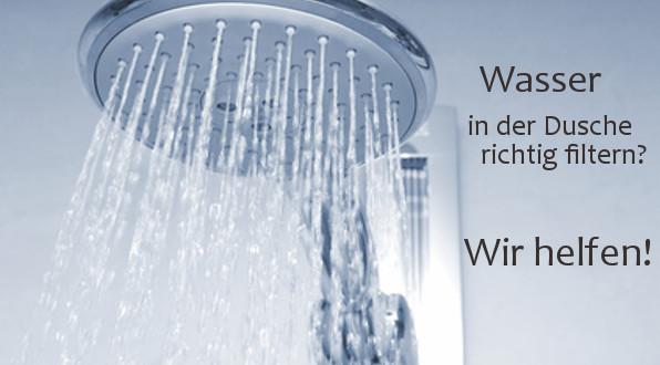 Wasser enthärten dusche
