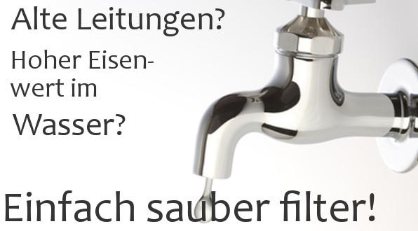 Relativ Wasserfilter gegen Eisen | Schadstoffe | Wasserfilter LU23
