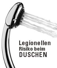 Wasserfilter Legionellen