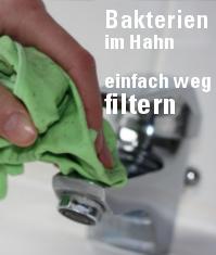 Wasser Bakterien filtern